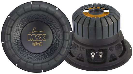 SOUND AROUND/LANZAR AUDIO MAX8 8   600 Watt Subwoofer Driver for Small Enclosures