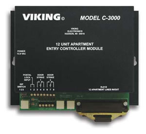 Viking Electronics C3000 Viking 1 to 96 Apartment Entry