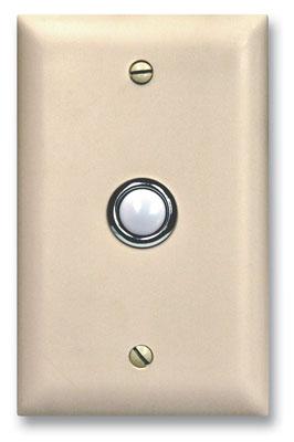 Viking Electronics DB-40-WH Viking Door Bell Button Panel