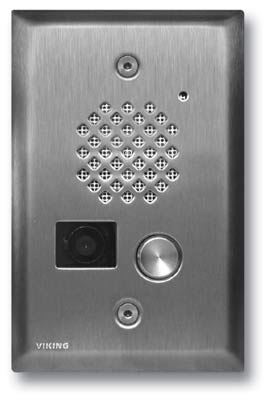 Viking Electronics E50SSEWP Video Entry PhoneStainless St