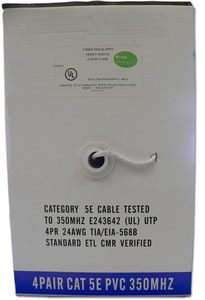 Accessories CAT51000IW8-WH Cat 5 E White