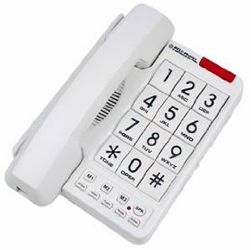 Northwestern Bell 20600 MB2060-1 Big Button Phone Whit
