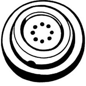 Plantronics NC-1-44 Noise Cancellation ASH