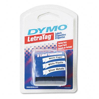 Sanford Brands 12331 Label  Dymo Letra Tag  3 Value Pack