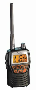 Cobra Electronics Corporation MRHH125 Radio  MR HH125  Marine VHF Radio