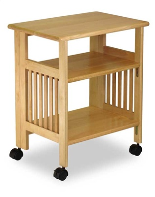 Winsome 81628 Natural Beechwood SHELF 4-TIER FOLDABLE NATURAL