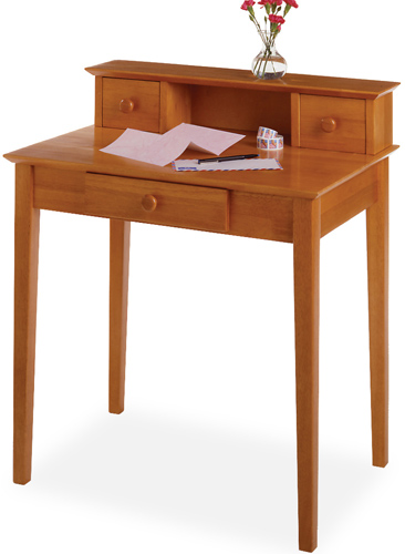 Winsome 99333 Honey Beechwood DESKWRITING
