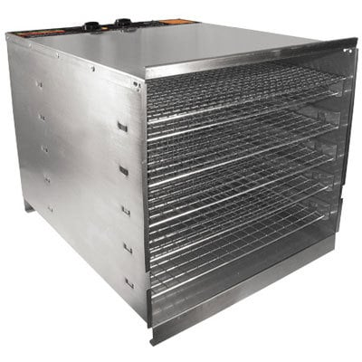 Prago 74-1001-W Stainless Steel Food Dehydrator