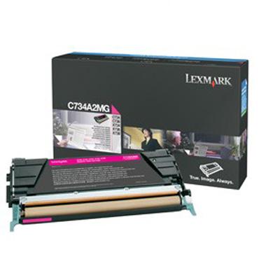 Lexmark International C734A2MG Magenta Toner Cartridge