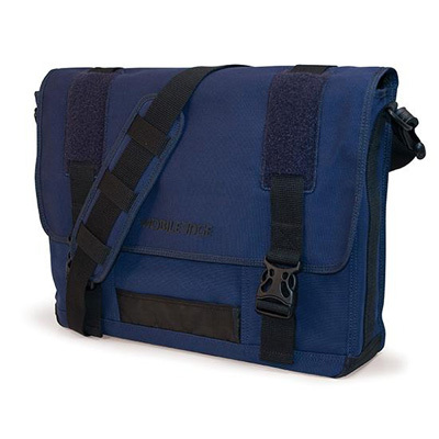 Mobile Edge MECME3 Eco-Friendly Canvas Messenger Bag - Navy
