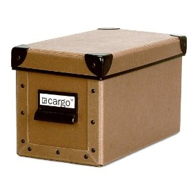Resource International 8040421 Cargo Naturals CD Box- Nutmeg