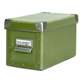 Resource International 8040525 Cargo Naturals CD Box- Sage