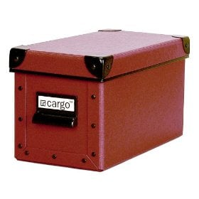 Resource International 8040721 Cargo Naturals CD Box- Red Spice