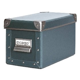 Resource International 8041325 Cargo Naturals CD Box- Bluestone