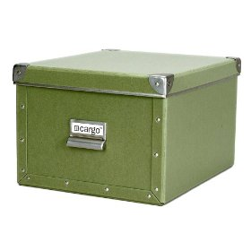 Resource International 8050525 Cargo Naturals Shelf Box- Sage
