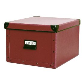 Resource International 8050721 Cargo Naturals Shelf Box- Red Spice