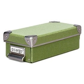 Resource International 8620525 Cargo Naturals Pencil Box- Sage