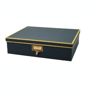 Resource International A1020104 Cargo Atheneum Document Box- Blue