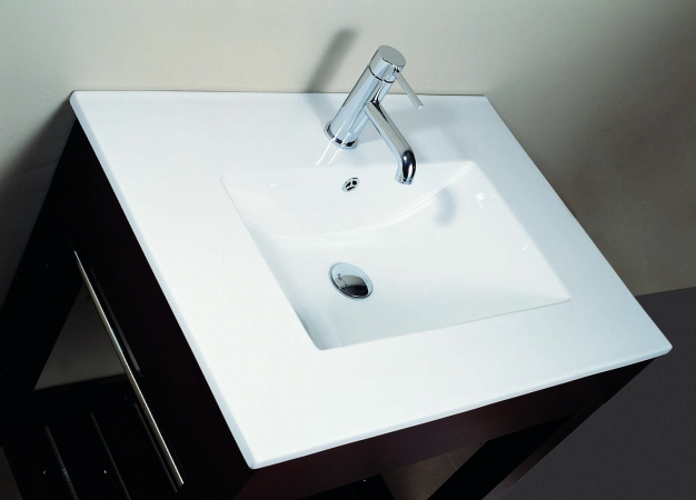 Avanity CUT31WT Vitreous China Top with Square Bowl- 31