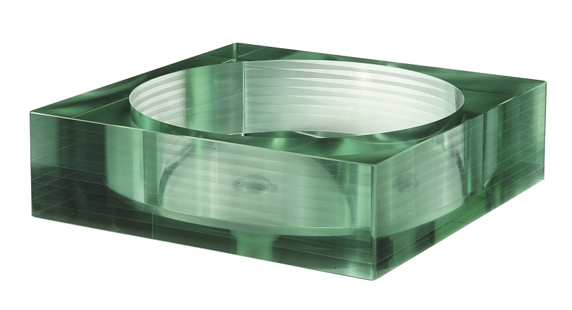 Avanity GVE450SQ Tempered Segmented Glass Vessel- Square