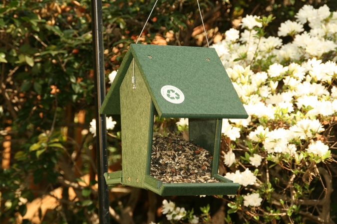 Songbird Essentials SERUBHF500 Hopper Feeder-Green