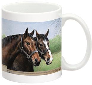 Fiddler s Elbow FEC310 Caroline s Horses 15 oz Mug