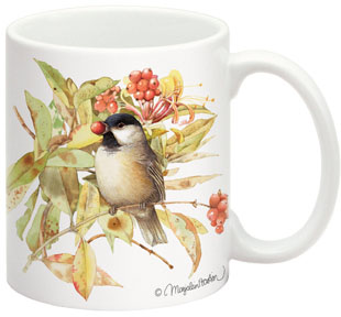 Fiddler s Elbow FEC505 Black-Capped Chickadee 15 oz Mug