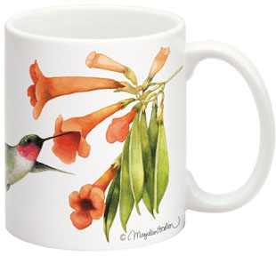 Fiddler s Elbow FEC506 Ruby-Throated Hbird 15 oz Mug