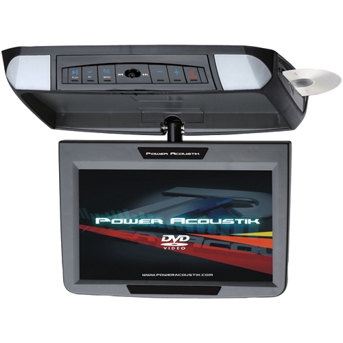 Power Acoustik PMD-90CM 9  Flip-Down Widescreen Monitor with DVD