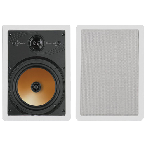 Bic America HT8W 8   3-Way Acoustech Series In-Wall Speakers