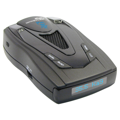 Whistler PRO-78 SE High-Performance Radar Detector with Blue Text Display