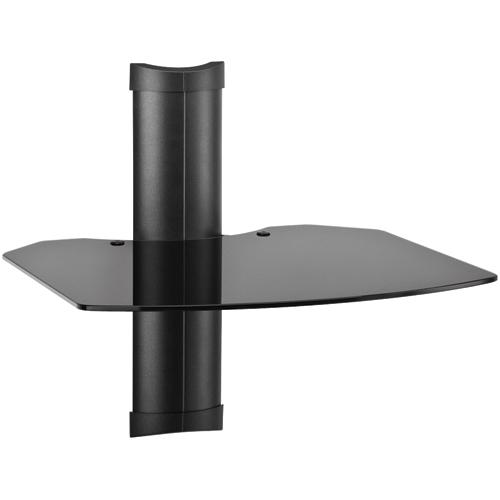 Omnimount TRIA 1 B Tria 1-Shelf Wall Furniture System - Black PTR27189