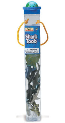 Safari 697104 Sharks Miniatures Toob - Pack Of 4