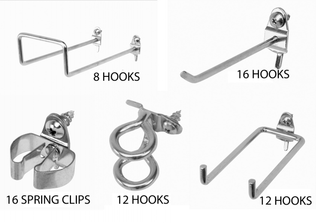 Triton Products 532-2 DuraHook Heavy Duty Peghook Assortment