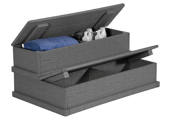 A&B Accessories HSTORE Hybrid Store Step in Gray