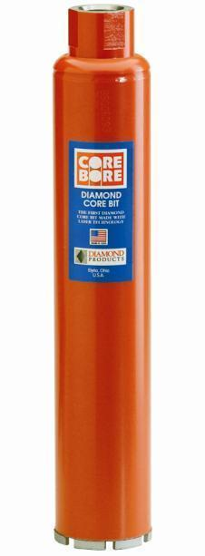 Diamond Products 00007 Core Bore 4   - Heavy Duty Orange General Purpose