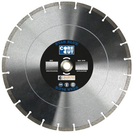 Diamond Products 70422 Core Cut 14   x .12 x 1 Star Blue Dry Walk Behind Blade