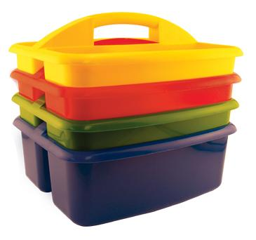Early Childhood Resources ELR-0454 4 pack Large Art Caddy