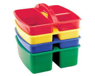 Early Childhood Resources ELR-0467 4 pack Small Art Caddy