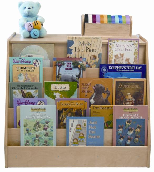 Early Childhood Resources ELR-0429 Book Display-Storage Unit