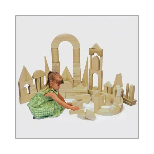 Early Childhood Resources ELR-079 118 piece Hardwood Blocks