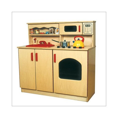 Early Childhood Resources ELR-0434  4-in-1 Kitchen