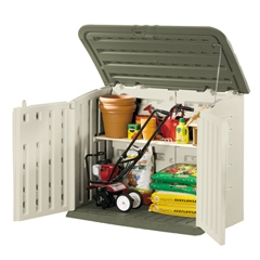 Rubbermaid RHP 3747 Large Horizontal Outdoor Storage Shed