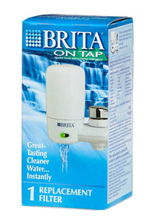 Brita 42401 WHT On Tap Replacement Irrigate Filter - White