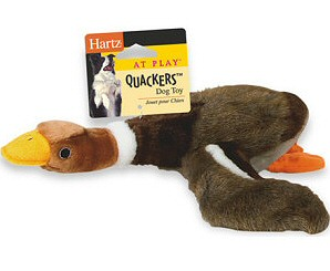 Hartz 05445 Quakers Dog Toy