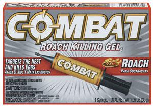 Dial 51963 Combat Roach Killing Gel  30g. - Case of 12 HSTZCS6242