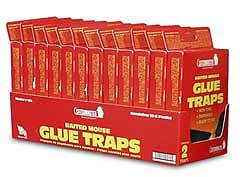 Atlantic Paste & Glue 102 2PK CatchMaster Baited Mouse Glue Traps - 2 Pack - Case of 24