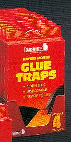 Atlantic Paste & Glue 104 4PK CatchMaster Mouse Glue Traps - 4 Pack - Case of 24