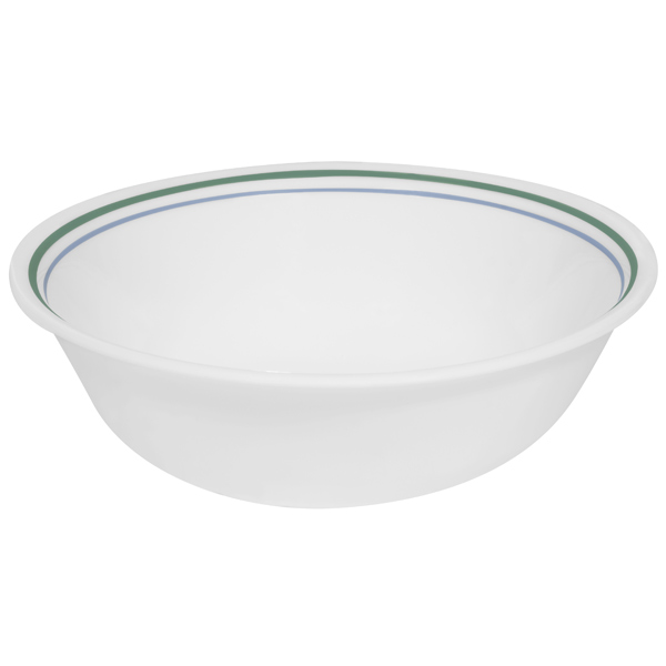 Corell 6018489 CCG 18-oz Livingware Country Cottage Soup / Cereal Bowl - Case of 6