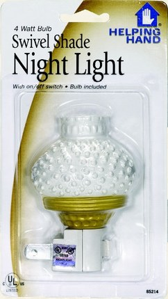 Faucet Queen 85214 Lampshade Night Light - Case Of 6
